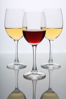 Free Wine Glasses Stock Images - 8302324