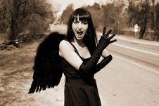 Free Scream Royalty Free Stock Photos - 8302648