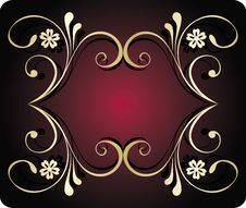 Free Abstract Floral Banner Royalty Free Stock Images - 8302949