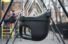 Free Playground Swings Stock Photography - 8303082