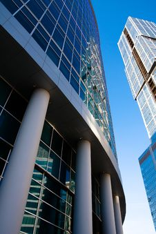 Free Modern Skyscrapers Royalty Free Stock Photos - 8303168