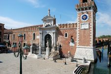 Free The Arsenale, Venice Royalty Free Stock Photography - 8303267
