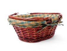 Free Wicker Basket Royalty Free Stock Photos - 8303498