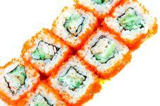 Free Sushi With Chopsticks Royalty Free Stock Photo - 8303665