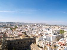 Free Panoramic View Of Sevilla Stock Photography - 8303872