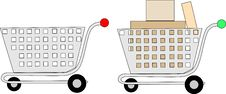 Shopping Cart Icon Stock Photos