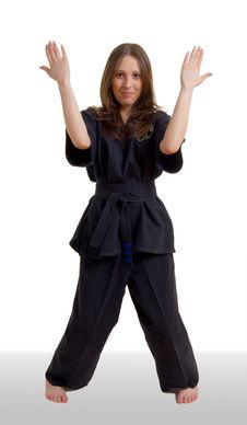 Kung Fu Girl Stock Photos