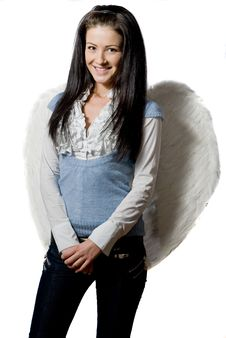 Free Pretty Angel Royalty Free Stock Images - 8304649