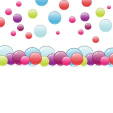 Free Colorful Bubbles Design Royalty Free Stock Image - 8305406
