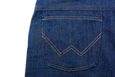 Free Blue Jeans Royalty Free Stock Photo - 8306335