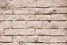 Free Gravel Brick Wall Stock Photo - 8307060