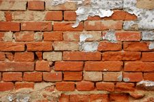 Free Old Brick Wall Royalty Free Stock Images - 8307339