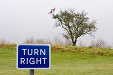 Free Turn Right Stock Images - 8307554