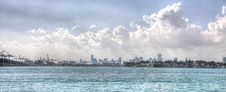 Free Cityscape In The Horizon Royalty Free Stock Images - 8307989