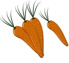 Free Carrots 3D Stock Photography - 8308202