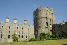 Windsor Castle In England Royalty Free Stock Image
