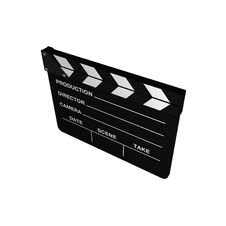 Free Cinema Clapboard Stock Images - 8308324