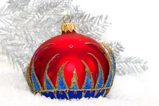 Free Red Christmas Ball Stock Photos - 8308343