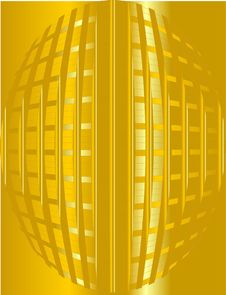 Free Golden Lines Background Royalty Free Stock Photo - 8308465