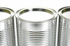 Free Tin Canisters Royalty Free Stock Images - 8308569