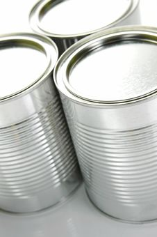 Free Tin Canisters Royalty Free Stock Photography - 8308587