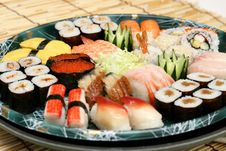 Free Prepared And Delicious Sushi Stock Images - 8308604