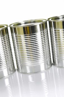 Free Tin Canisters Royalty Free Stock Photos - 8308618