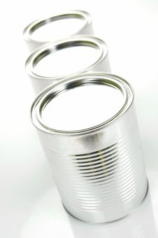 Free Tin Canisters Stock Photography - 8308652