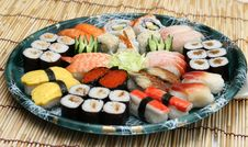 Free Prepared And Delicious Sushi Stock Image - 8308821