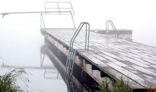 Free Bridge In Fog Stock Photos - 8309153