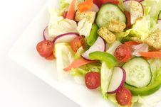 Free Garden Salad Royalty Free Stock Image - 8309426