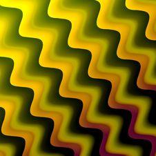 Yellow Waves Stock Photo