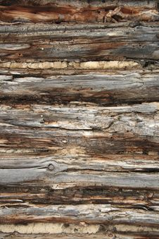Free Old Cabin Wall Royalty Free Stock Image - 8309536