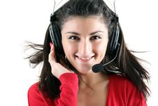 Free Receptionist Royalty Free Stock Photography - 8309607