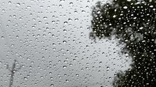 Free Raindrops On Glass Royalty Free Stock Images - 83007909