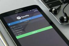 Free Black Samsung Galaxy Tab Royalty Free Stock Photography - 83008037