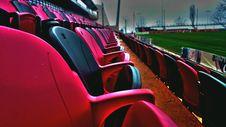 Free Empty Baseball Stadium Seats Stock Photography - 83008042