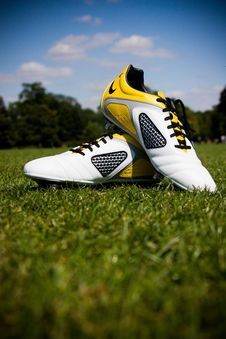 Free Designer Sports Shoes, Stock Image - 83008871