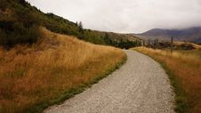 Free Gray Gravel Road And Brown Weeds Stock Photo - 83008920