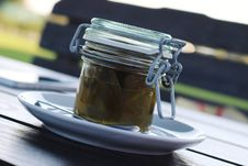 Free Jar Of Jalapeno Preserves Royalty Free Stock Photo - 83009625