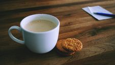 Free Coffee And Cookies Royalty Free Stock Photography - 83009767