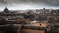 Free Top View Of City House Under Cloudy Sky Royalty Free Stock Photography - 83010147