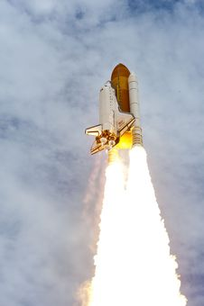Free Space Shuttle Launch Stock Images - 83010404