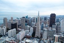 Free Top View Of Building City During Daytime Stock Images - 83010414