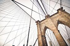 Free Cables On Suspension Bridge Stock Photos - 83010443
