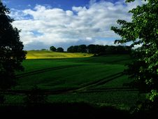Free Green Country Fields, Germany Royalty Free Stock Images - 83011539