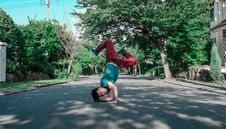 Free Breakdancing On Streets Royalty Free Stock Photo - 83011545