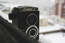 Free Lubitel 2 Vintage Camera Stock Images - 83011704