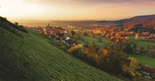 Free Schieder Schwalenberg, Germany At Sunset Stock Photography - 83011822