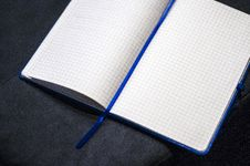 Free Open Square Ruled Notebook Royalty Free Stock Images - 83012169
